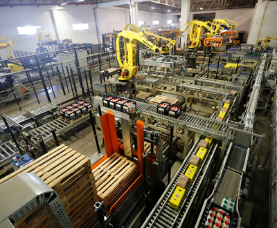 Robotic Layer Palletizing System